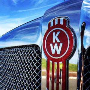 Kenworth grill logo