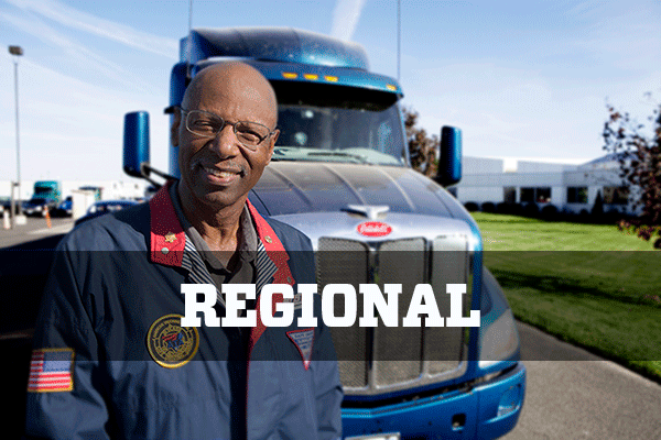 Regional flatbed truck driving jobs