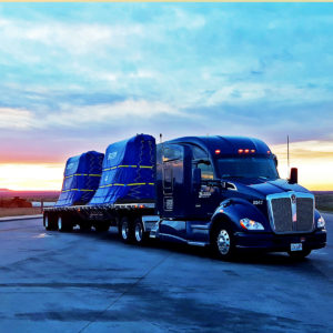 New Kenworth T680 Glass Haul Flatbed Truck